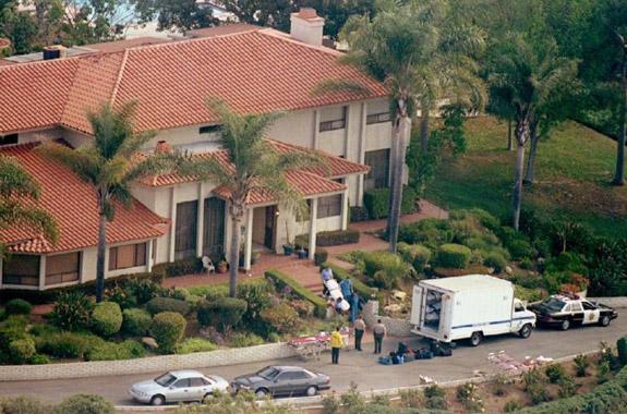 Heaven's gate house in Rancho Santa Fe, California