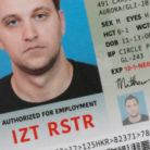 Matthew Jarndyke's ID card