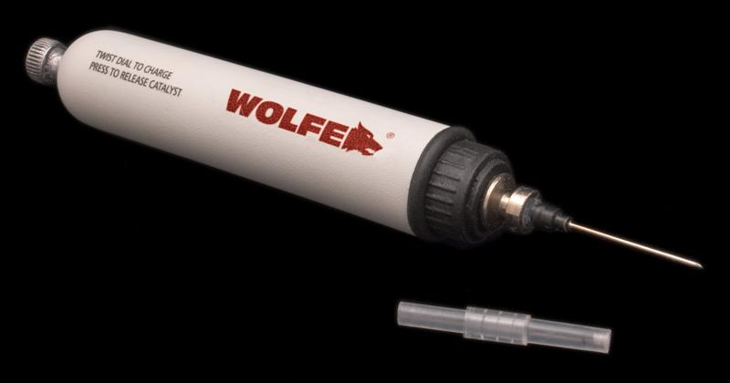 Wolfe-brand syringe found in the Jarndyke Ark