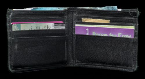 Wallet found in the Matthew Jarndyke Ark