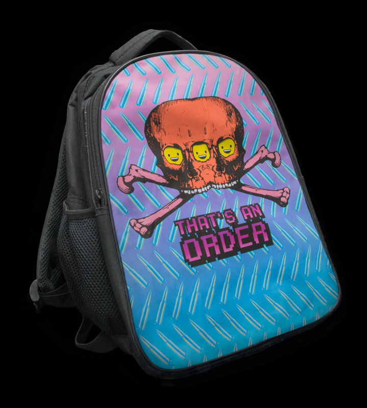 Backpack found in the Maddox Ark