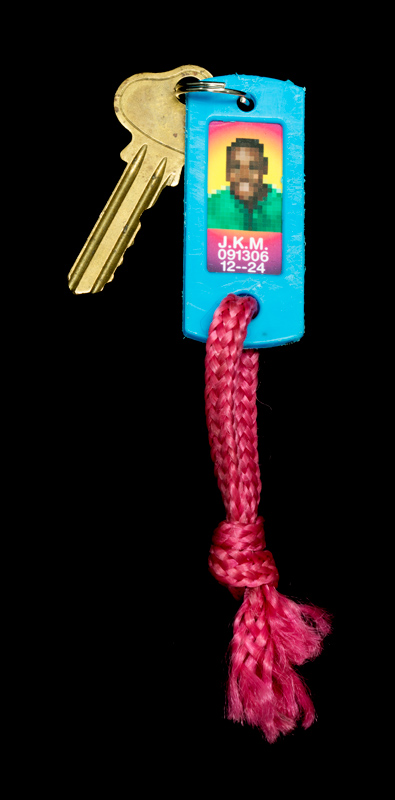 Keychain found in the Maddox Ark