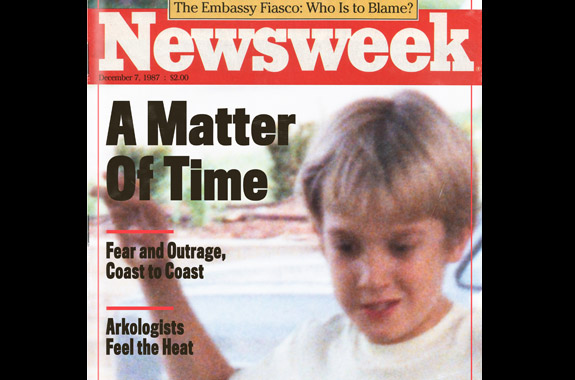 Newsweek cover featuring Christopher Kowalski.